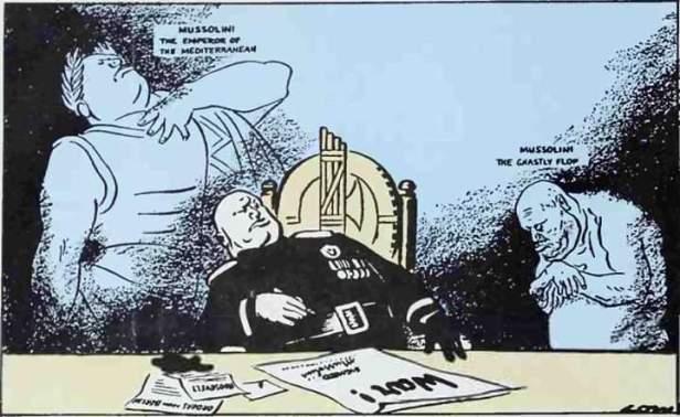 Vignetta Mussolini